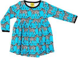 SALE: Kleid mit Zebra Türkis von DUNS