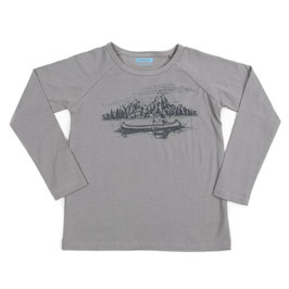 SALE: Shirt mit Fluss und Kanu von Liv+Lou