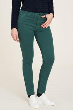 Skinny-Jeans in Piniengrün von Tranquillo