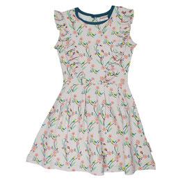 NEU: Rüschen-Kleid mit Vögel und Blumen von Baba