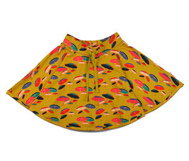 Jupe mit Schirmen gelb von Baba