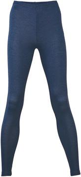 NEU: Wolle/Seide Leggings für Damen in Dunkelblau von Engel Naturtextilien