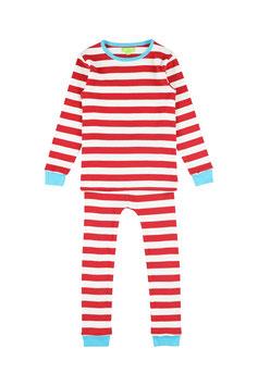 NEU: Pyjama gestreift Rot/Weiss von Lily Balou