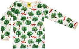 Pulli mit Fuchs und Baum in Beige von DUNS