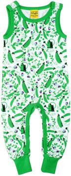 SALE: Playsuit mit Erbsen grün von DUNS