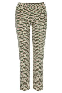 Jaquard-Hose in Vintage-Muster von Lily Balou