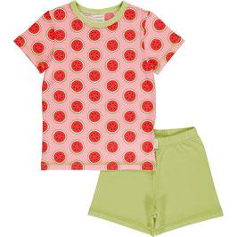 NEU: Sommer-Pyjama 2-teiler mit Wassermelonen von Maxomorra