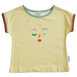 NEU: T-shirt Multicolor mit Gesicht von Baba