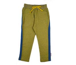 Street Pants Mustard meliert mit blauem Streifen von Baba