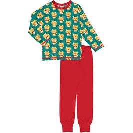NEU: Pyjama 2-teiler mit Katzen von Maxomorra