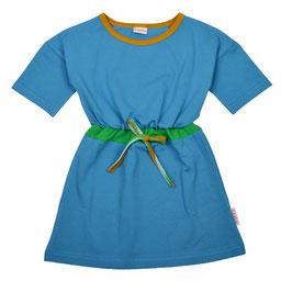 SALE: Sommerkleid multicolor uni Blau von Baba