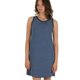 SALE: Basic-Damenkleid blau/weiss gestreift von Froy&Dind