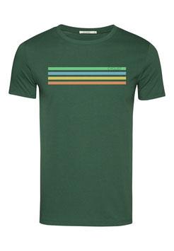 NEU: T-shirt Cyclist auf Grün von Greenbomb