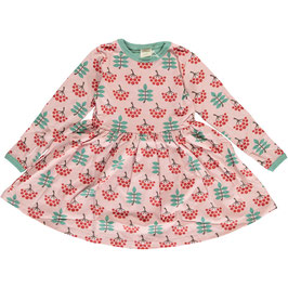 NEU: Langarm-Kleid mit Vogelbeeren von Maxomorra