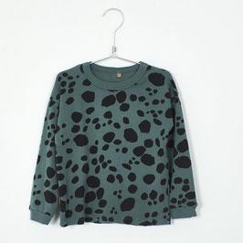 NEU: Shirt mit Tupfen auf Grün von Lötiekids