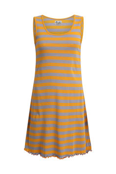 Kleid gestreift lila/gelb von Jalfe
