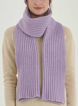 NEU: Woll-Schal gestrickt in Lila von Organication
