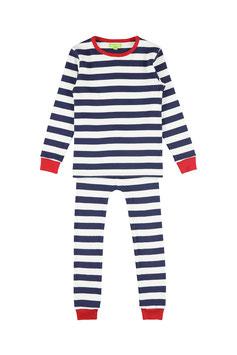 NEU: Pyjama gestreift Blau/Weiss von Lily Balou
