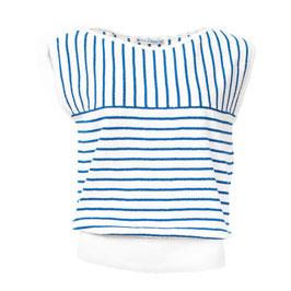 SALE: Shirt gestrickt in Blau/Weiss gestreift von Froy&Dind
