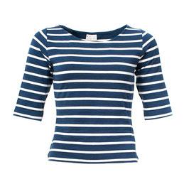 NEU: Damenshirt mit Streifen navy/weiss von Froy&Dind
