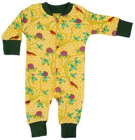 NEU: Einteiler-Pyjama mit Kleeblüten von DUNS