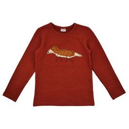 NEU: Fuchs-Sweatshirt in Rot/Braun von Baba