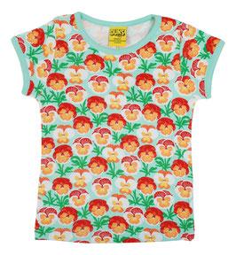 NEU: T-shirt Veilchen auf Mint von DUNS