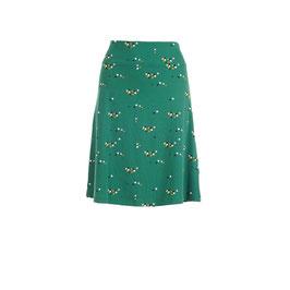 Damenjupe mit Tupfen auf Grün von Froy&Dind