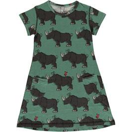 d20dde9a0c6a73 NEU  Kurzarm-Kleid mit Nashorn von Maxomorra