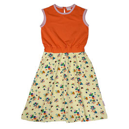 SALE: Langes Smock-Kleid mit Blumen von Baba