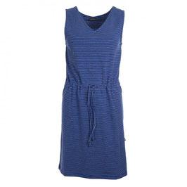 SALE -30%: Sommer-Damenkleid gestreift weiss/blau von Froy&Dind
