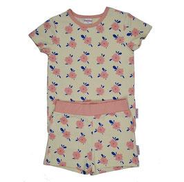 SALE: Sommer-Pyjama 2-teiler mit Blumen von Baba (bis Grösse 152)