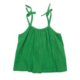 NEU: Trägerhemd in Grün aus Musselin von Lily Balou
