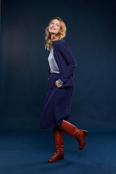 SALE: Damenjupe Double Face Blau von Lily Balou