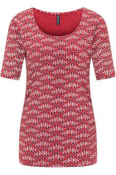 SALE: Kurzarm-Shirt mit Distel von Tranquillo
