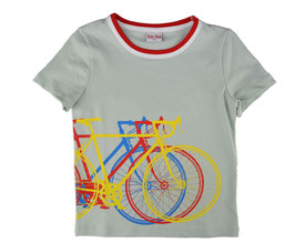 NEU: T-shirt Velo in Grau/Blau von Baba