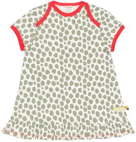 SALE: Sommer-Kleid mit olivfarbenen Tupfen von Loud+Proud
