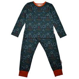 NEU: Pyjama 2-teiler mit Formen von Baba (bis Grösse 152)