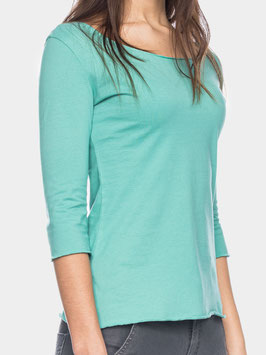 Damenshirt 3/4-Arm in Mint von ATO Berlin