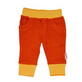 NEU: Frottée-Babyhose Sonnenuntergang Rot/Orange von Baba