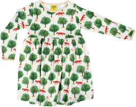 SALE: Süsses Kleid mit Fuchs und Baum Beige von DUNS