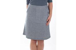SALE -40%: Damenjupe in Jeansoptik mit perfektem Schnitt