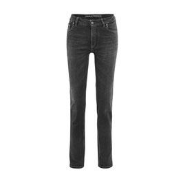 NEU: Straight Fit Bio-Jeans in Black washed von Living Craft