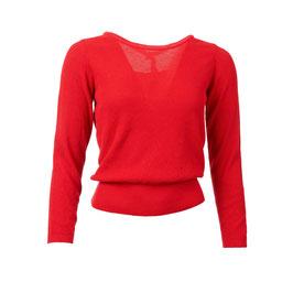 NEU: Pullover gestrickt in sanftem Rot von Froy&Dind