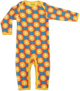 SALE: Pyjama mit gelben Blumen von DUNS