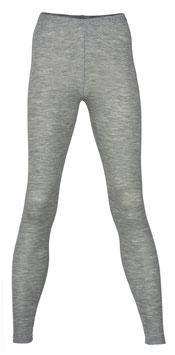 NEU: Wolle/Seide Leggings für Damen in Grau Mélange von Engel Naturtextilien