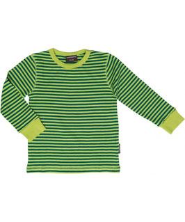 Shirt Grün gestreift von Maxomorra