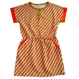 SALE: Sommerkleid mit diagonalen Streifen von Baba