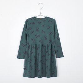 NEU: Kleid mit Heidelbeeren auf Grün von Lötiekids