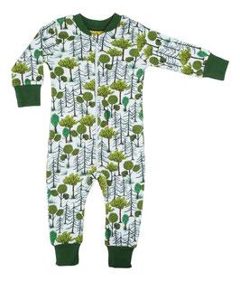 NEU: Einteiler-Pyjama Waldstimmung bis Grösse 128 von DUNS
